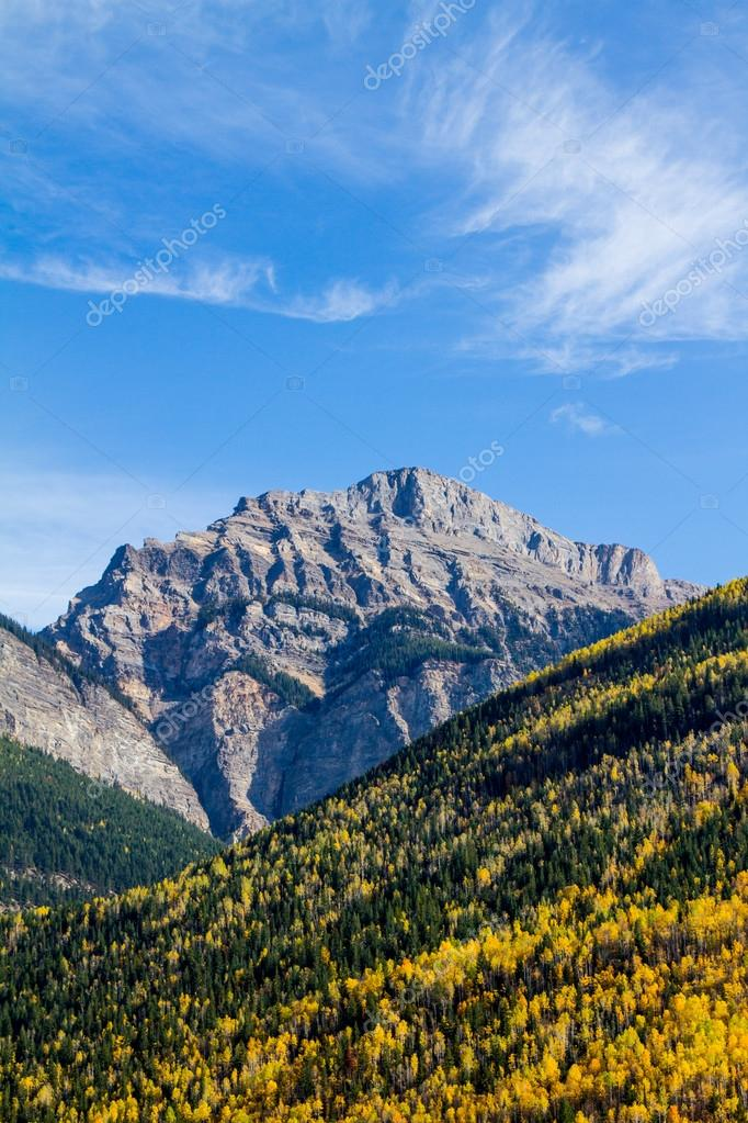 Autumn in Rocky mountains  Stock Photo #13385650