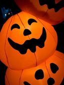 Halloween pumpkins abstract — Stock Photo