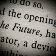 Foto de Stock  : The future