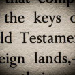 Old Testament — Stock Photo