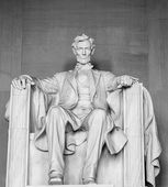 Abraham Lincoln Statue — Stock Photo