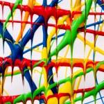 Finger paint background — Stock Photo