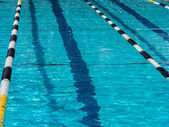 Swimming pool lane — Stock Photo