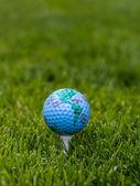 World golf concept — Stock fotografie