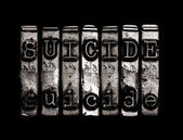 Suicide concept — Stock Photo