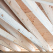 Roof framing — Stock Photo