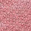 Pink knit background — Stock Photo