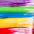Rainbow paint background — Stock Photo