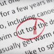 Stock Photo: Error in English essay