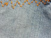Fondo azul jeans — Foto de Stock