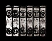 Crisis or warning — Stock Photo