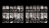 Serial Killer concept — Stock Photo