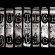 Justice concept — Stock Photo