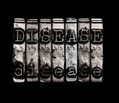 Disease concept — Stock Photo