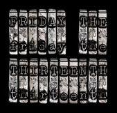 Friday the Thirteenth — Stock Photo