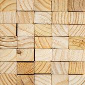 Wood block background — Stock Photo