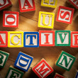Stock Photo: Active concept