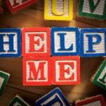 Help me — Stock Photo #40446491
