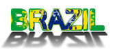 Brazil country concept — Stock Photo