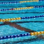 Swimming pool lanes — Stock Photo #49815019