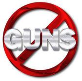 Gun control concept — Stock Photo