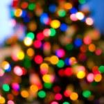 Christmas tree lights — Stock Photo #7477677