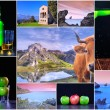 Stock Photo: Asturias collage.