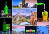 Asturias collage. — Stock Photo