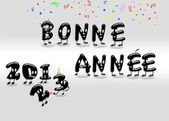 Bonne annee 2013. — Stock Photo