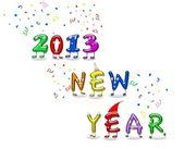 新的一年 2013. — 图库照片