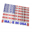 Stock Photo: Made in USA.