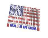 Made in USA. — Stock Photo