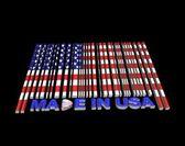Made in USA. — Zdjęcie stockowe