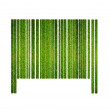 Barcode grass. — Stock Photo