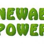 Renewable power. — Stock Photo #16261227