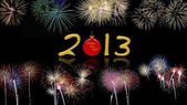 Fuegos artificiales 2013. — Foto de Stock