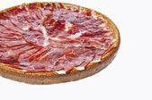 Spanish iberian ham. — Stock Photo