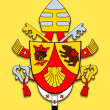 Постер, плакат: Coat of arms Benedicto XVI