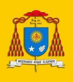 Coat of arms Francisco I. — Stock Photo