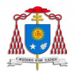 Coat of arms Francisco I. - Stock Photo