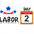 Labor day 2013. — Stock Photo