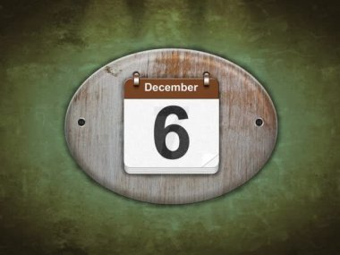 December. — Wideo stockowe