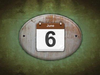 June — Stock Video