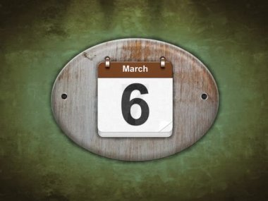 March. — Vídeo de stock