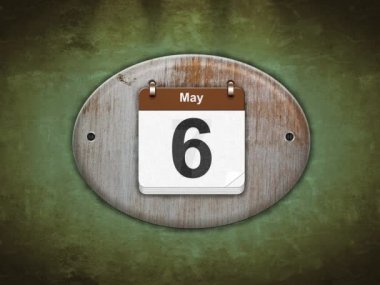 May. — Vídeo Stock