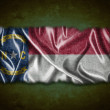 Stock Photo: Vintage North Carolinflag.