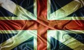Vintage Britain flag. — Stock Photo