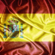 Vintage Spain flag. — Stock Photo