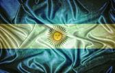 Bandera argentina vintage. — Foto de Stock