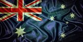 Vintage Australia flag. — Stock Photo
